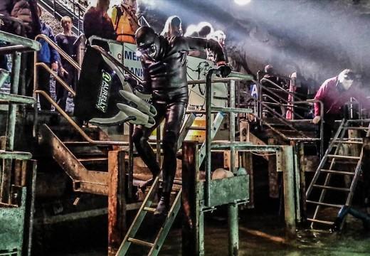 INTERVIEW: Christian Maldame nous parle de la compétition d'apnée dans le lac St Léonard