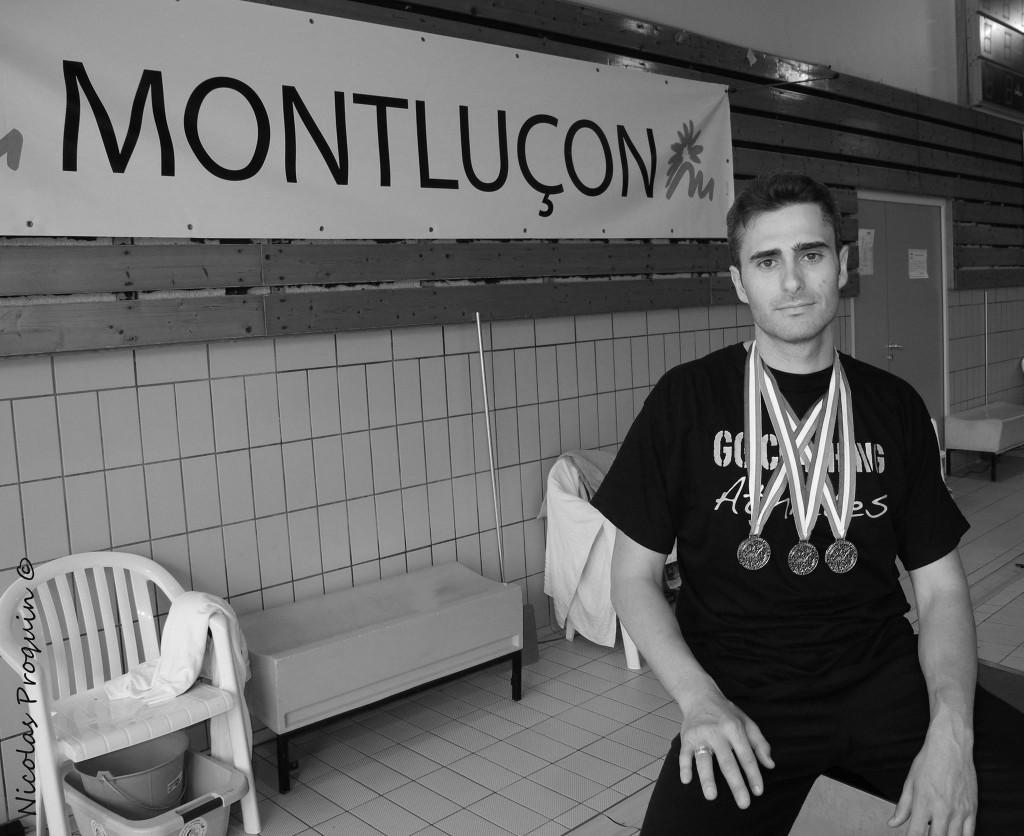 A Montluçon (Alliers) pour sa première participation au championnat national Guillaume devient champion de France 2013  photo : Nicolas Proquin