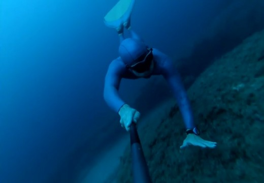 A freediving day by Brice Lequette