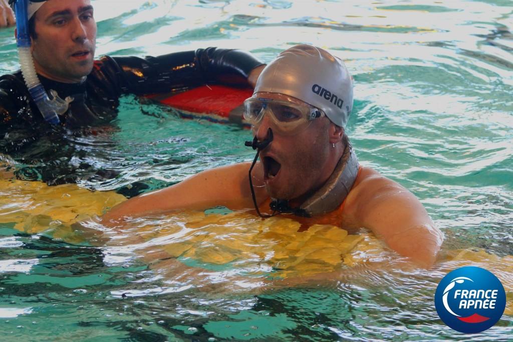 Fougerousse en constante progression Nicolas Fougerousse a nagé 196m DYN en bassin de 50. Son précédent PB était 175m en bassin de 25. Une très belle progression pour le Savoyard!