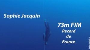 sophie FIM record de France