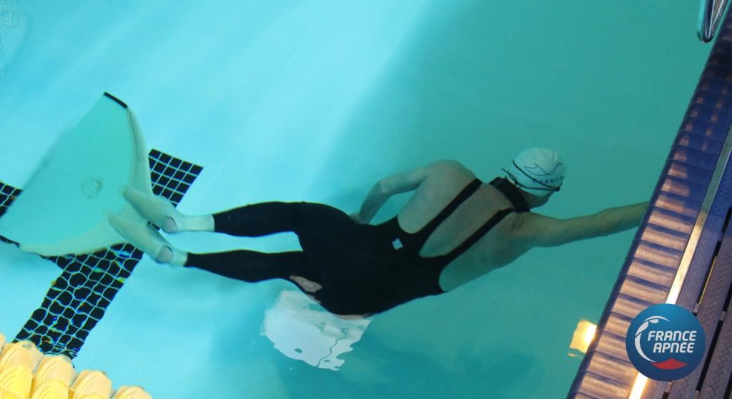 Xavier Delpit, un apnéiste complet qui excelle autant en mer qu'en piscine. photo : France Apnée