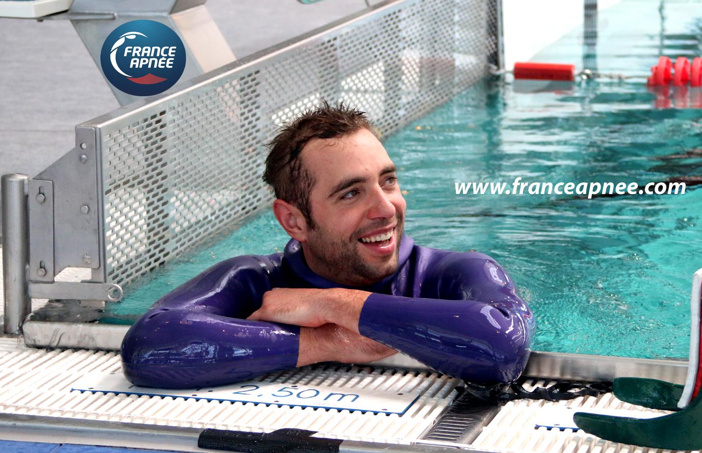 Heureux, Arthur Guérin-Boéri vient de nager un solide 250m DYN