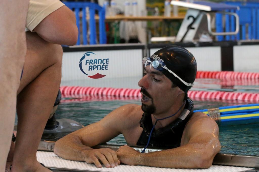 154m DNF pour Pierre Crubillé venu de Nouvelle Calédonie
