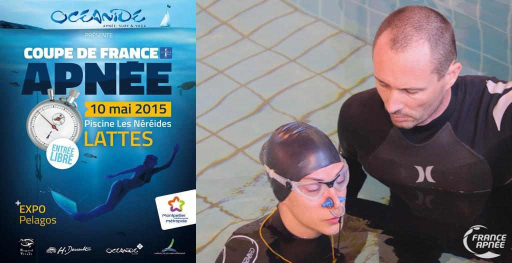 Audrey Palma et Jean-François Coulais, les organisateurs de la manche AIDA de Lattes