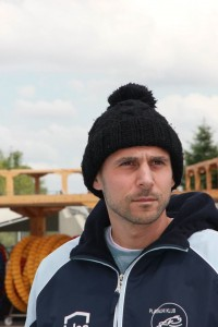 Goran en bonnet d'hiver (photo : Aleksandr Pangaev)