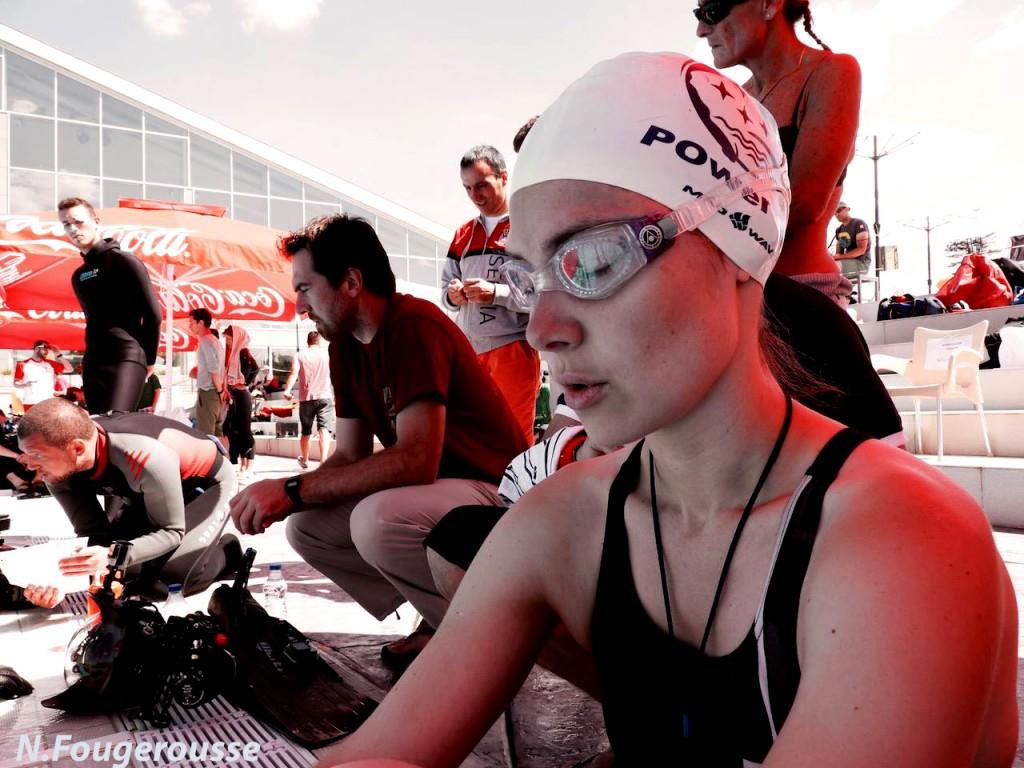 Justine Nicolas, 28 ans, réalise un record personnel avec 175m DYN et s'offre une finale B pour sa première participation à des Mondiaux