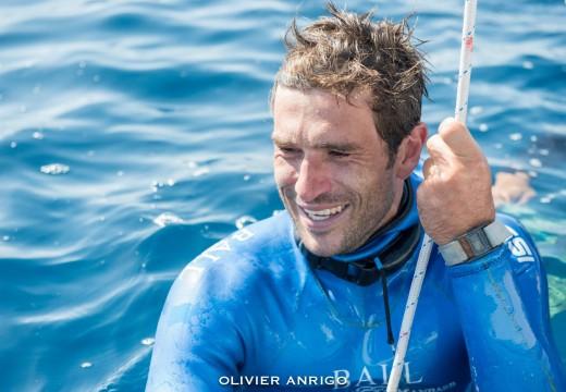 Interview de Guillaume Néry après son record de France à -126m, «je vais tenter le record du monde…»