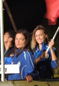 Chiara Obino et Alessia Zecchini pour l'Italie (photo : CMAS)