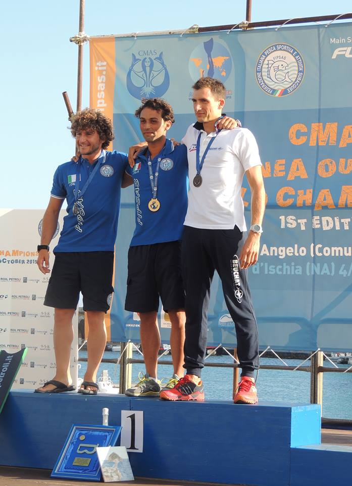 Ferri - Guirgola - Dubern (photo : CMAS)