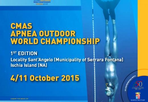 DOSSIER – mondiaux CMAS outdoor 2015