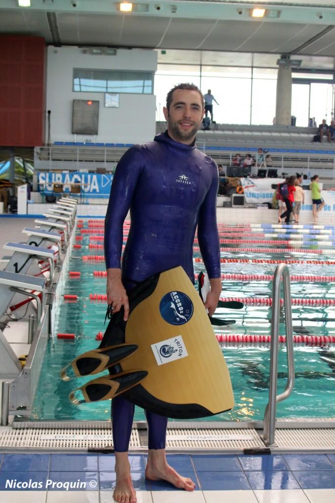 Arthur Guérin-Boéri, un athlète d' 1m97 (photo : Nicolas Proquin)