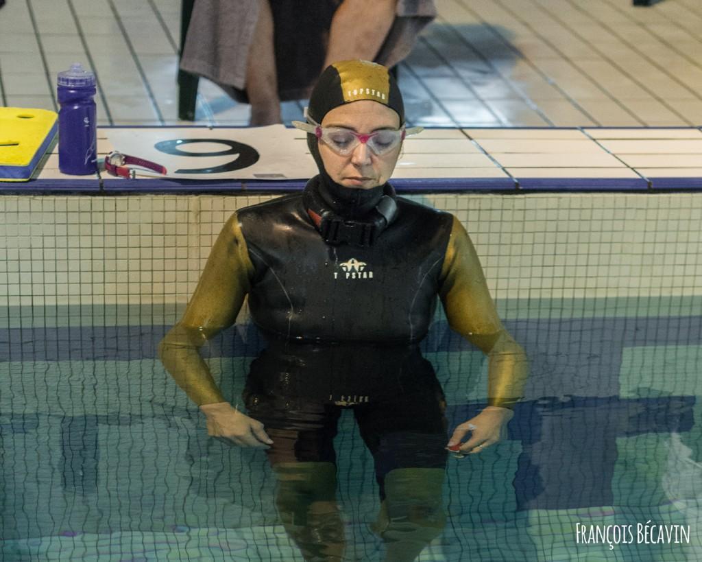 Sandrine Murbach au départ du DYN