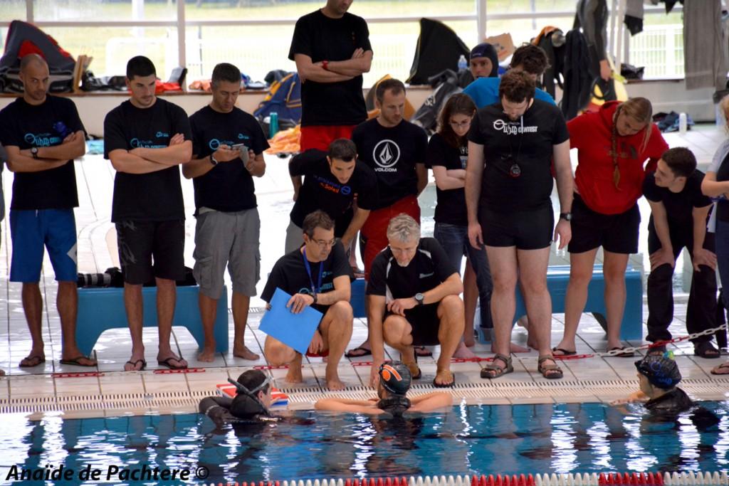 Fougerousse sort à 216m DYN en bassin de 25 (photo : Anaïde de Pachtere )