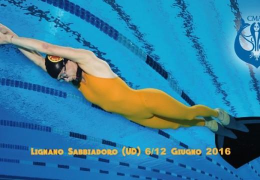 Championnat du monde Indoor CMAS – Lignano 2016