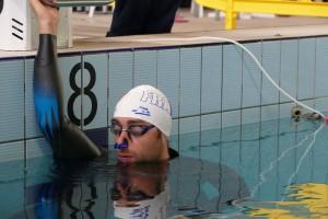 Arthur Guérin-Boéri avant de nager 221 DNF photo : FIPSAS-CMAS