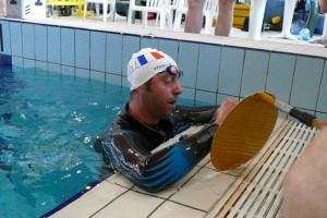 Touché ! Validé ! 300m record du monde absolu pour le champion Français ! photo : FIPSAS-CMAS