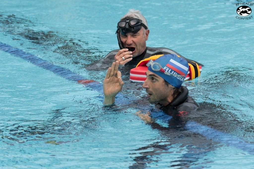 Thomas Bouchard qui s'était illustré le matin avec 8'13 nagera un DNF confort