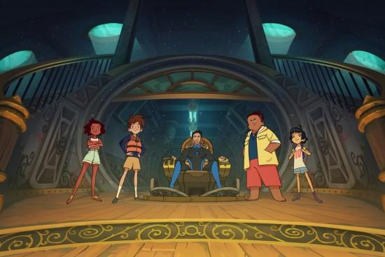 «Pirates of the Abyss», le dessin animé des apnéistes