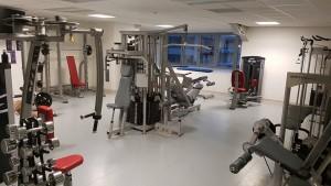 salle de musculation du centre aquatique d'Alforville