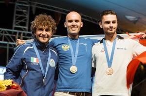 """Aranud, médaille de bronze en poids constant bi-palme lors de """"Europe"""" CMAS 2017"""