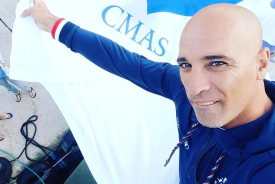 Abdelatif Alouach, de la chasse-sous-marine à l'apnée sportive