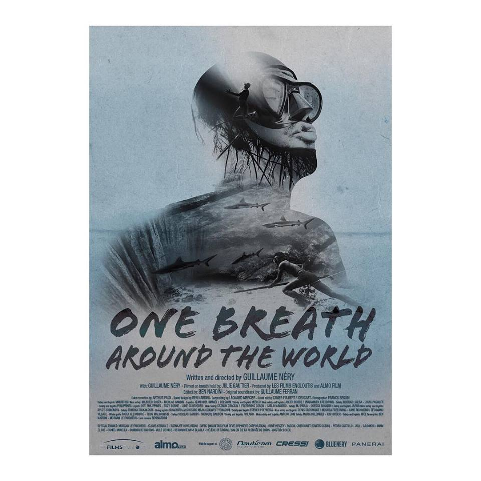 """One breath around the world"" le dernier film de Guillaume Néry & Julie Gautier"