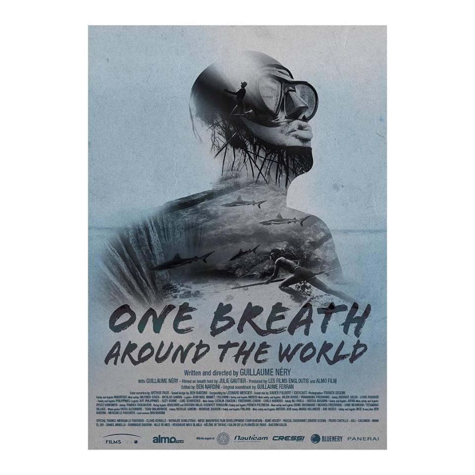 """""""One breath around the world"""" le dernier film de Guillaume Néry & Julie Gautier"""