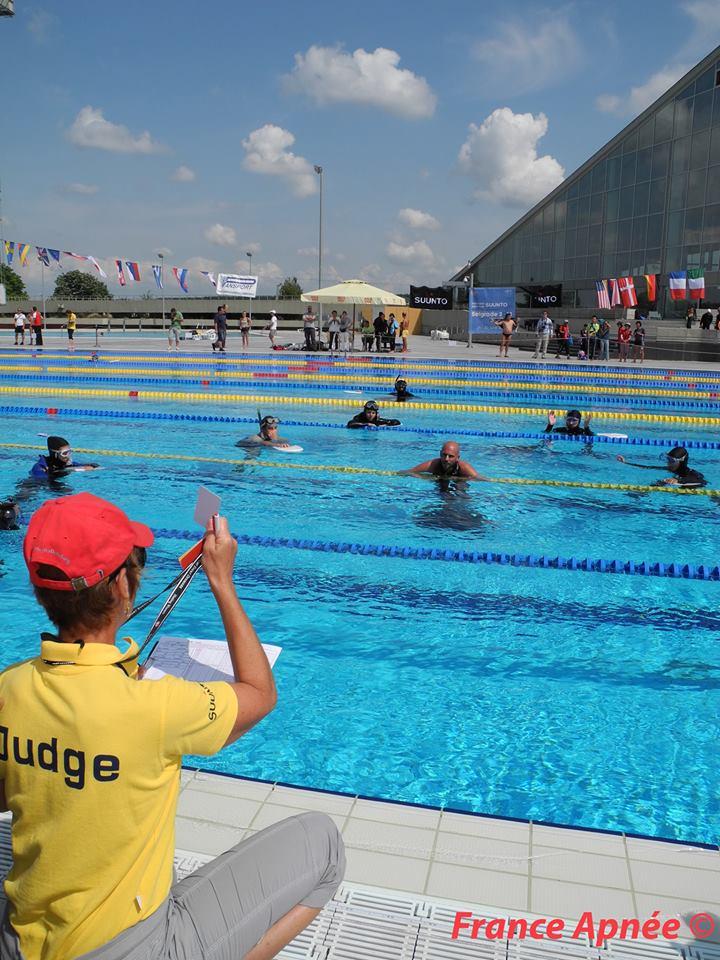 Goran Colak a pris toutes les médailles d'or à Belgrade  photo : France Apnée