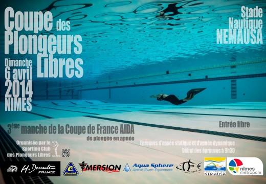 Coupe des Plongeurs Libres 2014 à Nîmes