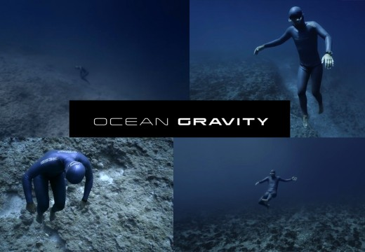 OCEAN GRAVITY by Julie Gautier & Guillaume Néry