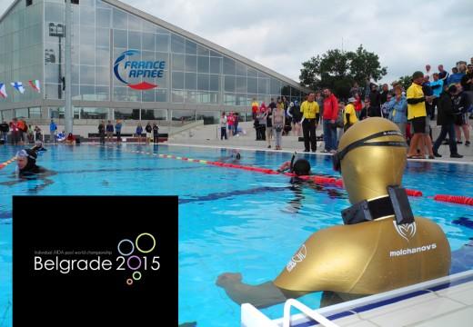 Championnat du monde indoor AIDA 2015 – Belgrade