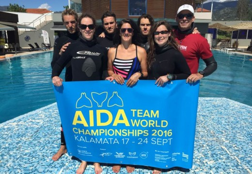 championnats du monde par équipes AIDA 2016