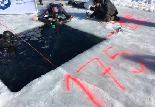 Arthur Guérin-Boëri : 175m DYN sous glace – RECORD DU MONDE